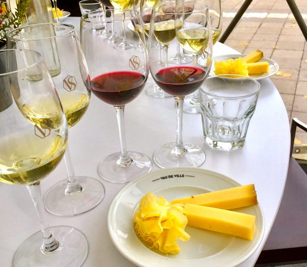 Schweizisk ost och vinprovning i Stockholm