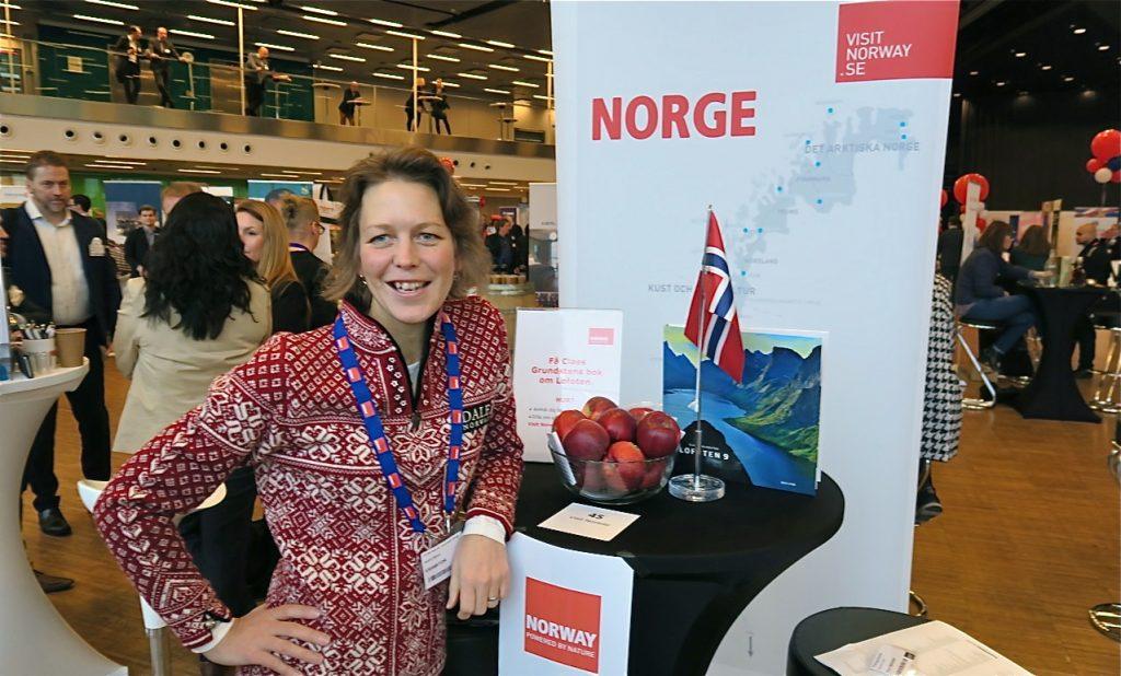 Norge var ett av de länder som gav mycket inspiration på resemässan Travel News Market.