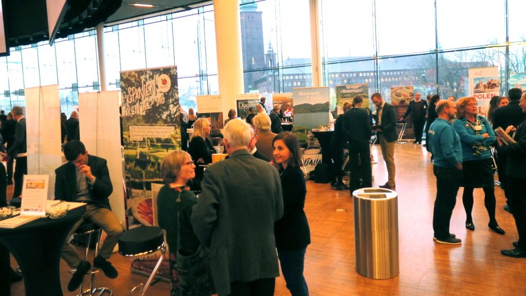 Travel News Market på Stockholm Waterfront Congress Center lockade ca 1200 besökare.