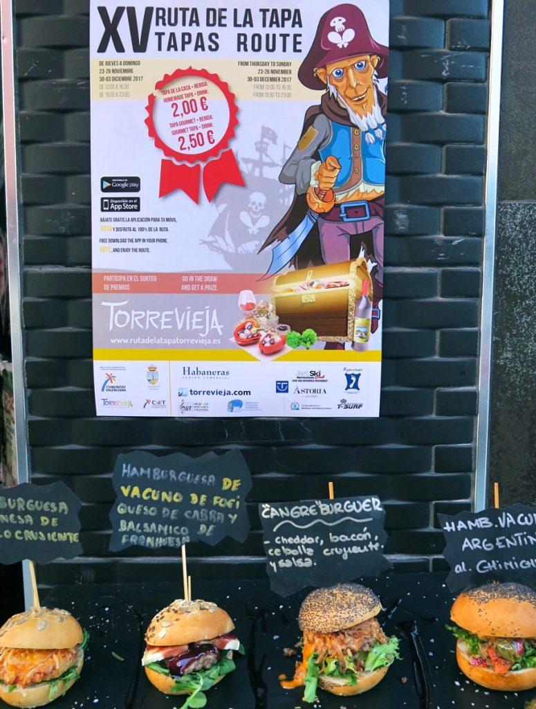 Tapasrundan i Torrevieja bidrar till att besöka restauranger i rask takt