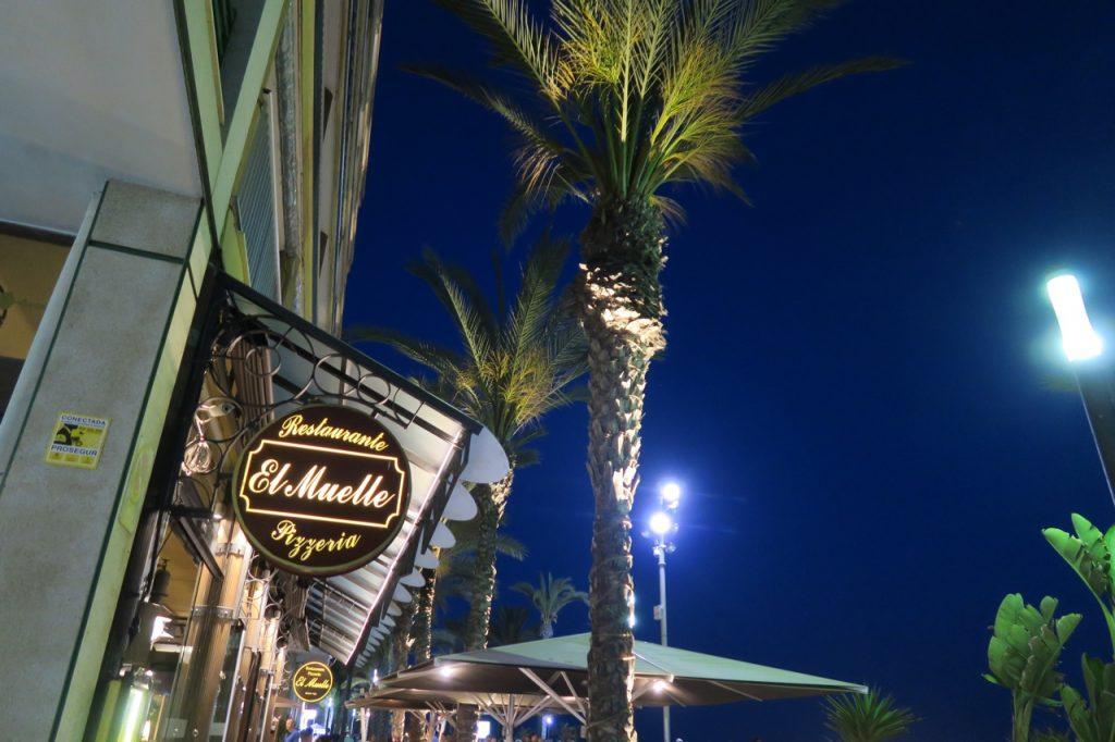 El Muelle en restaurang som kan rekommenderas i Torrevieja.