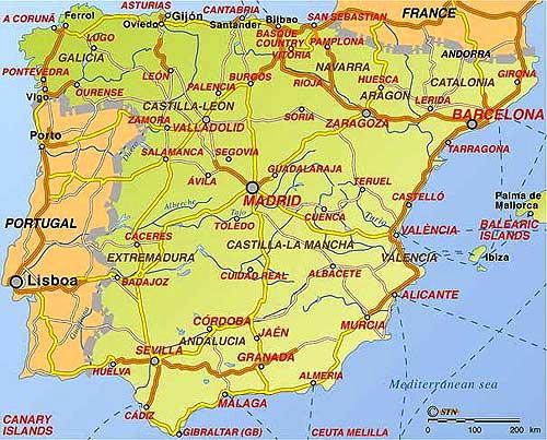 karta över alicante kusten Sol och hav är det gott om på Costa Blanca   Ditte Akker karta över alicante kusten