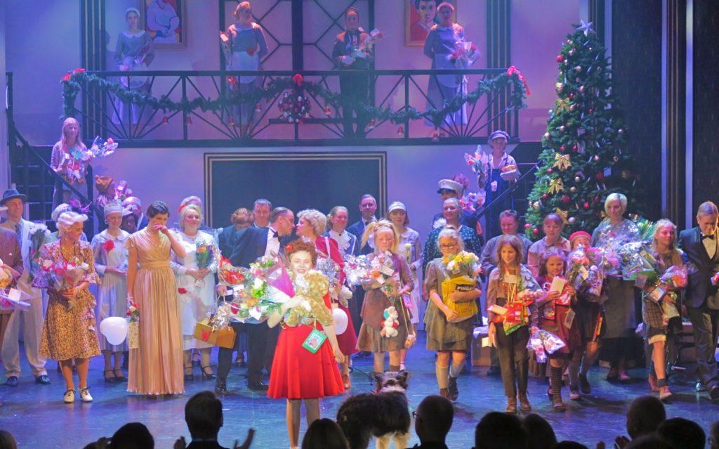 "Broadway kom till Säffleoperan med musicalen ""Annie"""