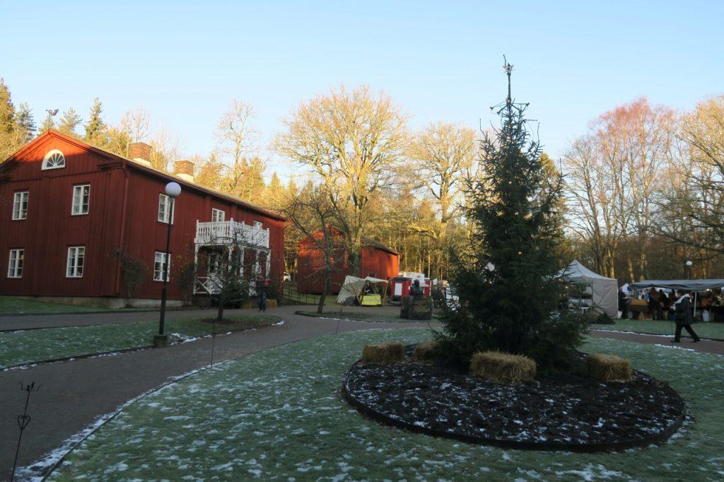 Alsters herrgård och östra flygeln där Fröding föddes 1860