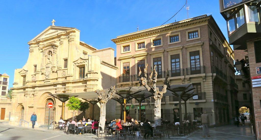 Plaza Julián Romea i Murcia.