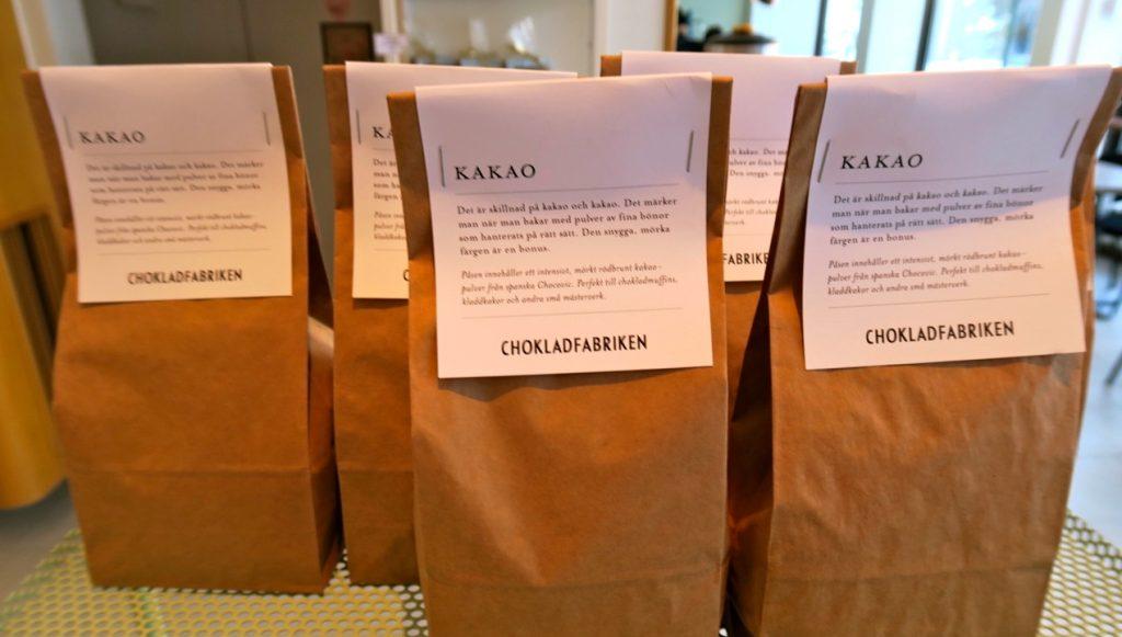 Ett av mina matnyttiga tips är Chokladfabriken vid Tjärhovsplan på Södermalm.