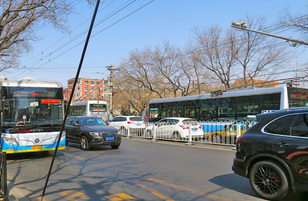 Transporter av skilda slag är viktiga för vardagslivet i Peking