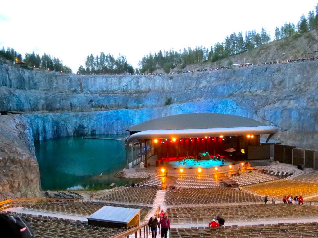 Sommar och konsert på Dalhalla