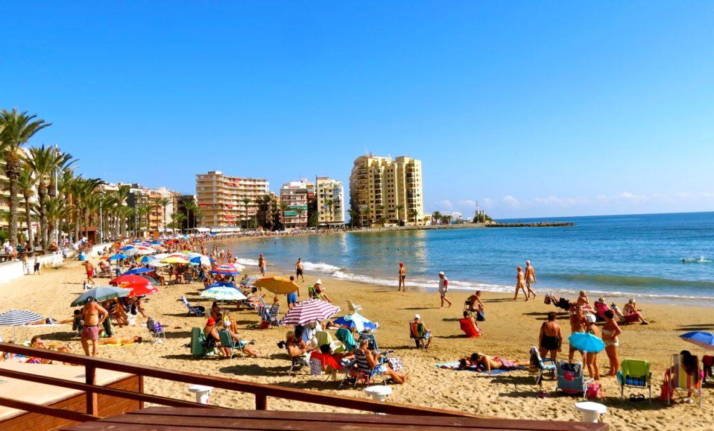 Playa del Cura i Torrevieja behåller 2018 sin blå flagg.
