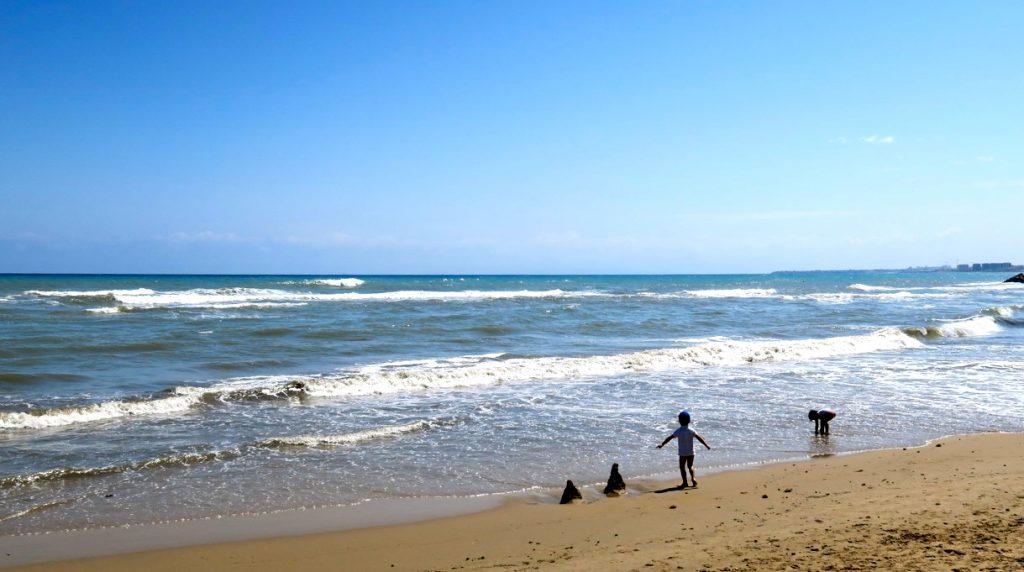 I veckan har vi passerat Playa del Cura (i Torrevieja) många gånger.