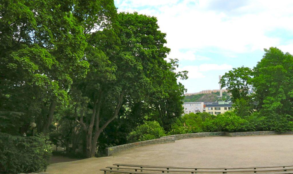 Vtabergsparken på Söder i Stockholm.