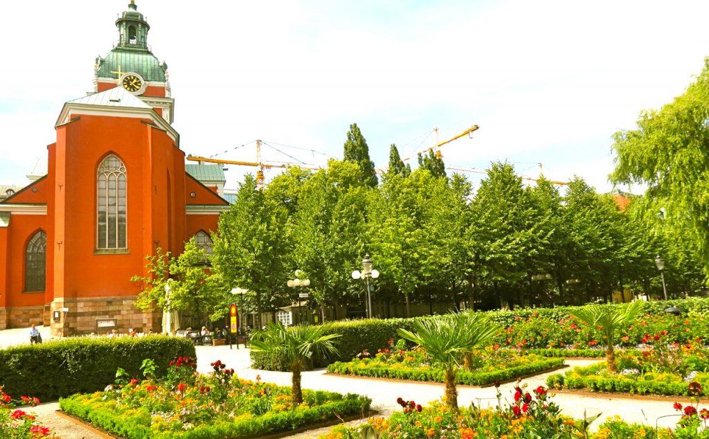 Kungsträdgården - Stockholms innerstads gröna lunga