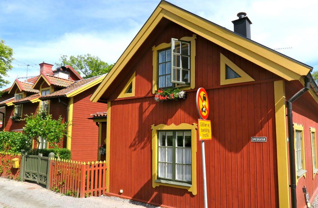 En somrig dag i Vaxholm.
