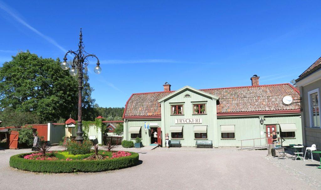Vallby friluftsmuseum utanför Västerås blev ett annat trevligt stopp under resan