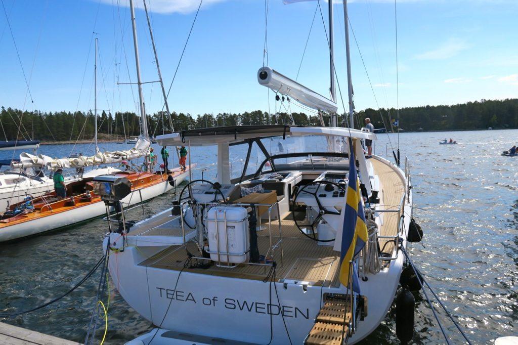 Ulvön är en popular hamn fär fritidsbåtar.