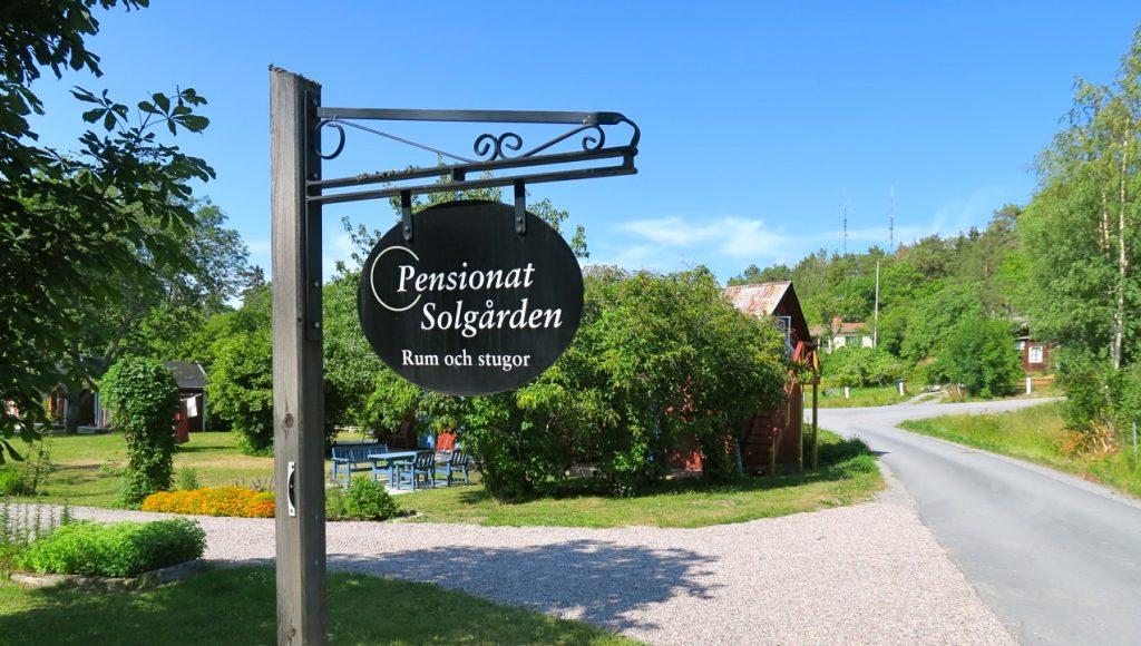 Grisslehamn och pensionat Solgården. En trevlig bekantskap