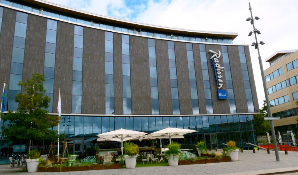 Söndgsbrunch vankades på hotel Radisson Blu i Uppsala