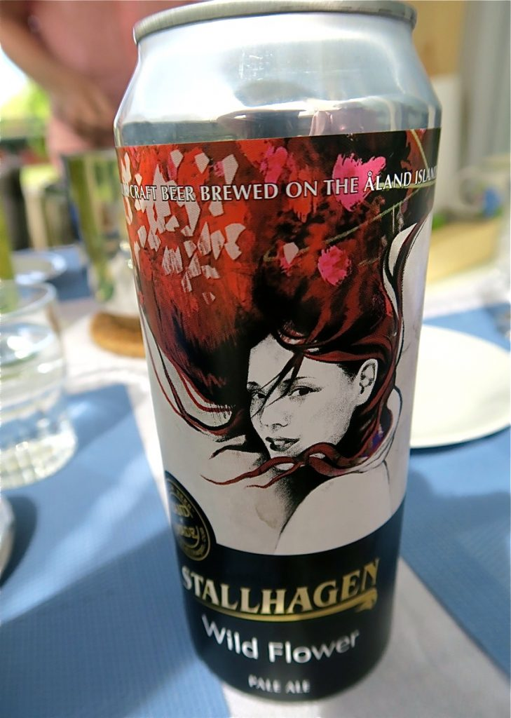 I veckans händelser ingick ett besök på Åland och vi testar gärna det åländksa ölet från Stallhagen