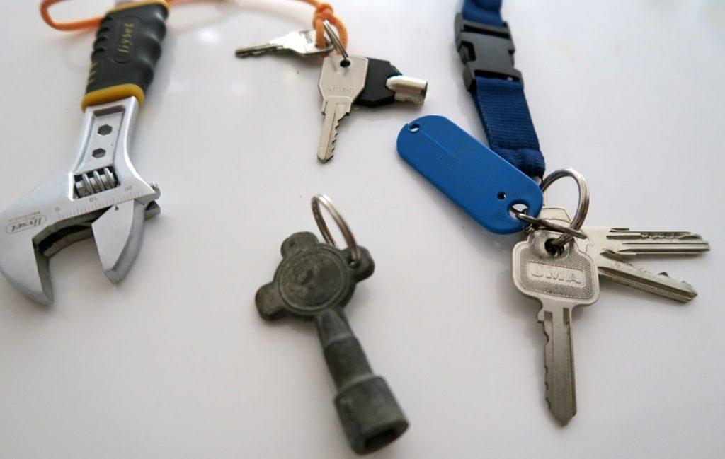 Många gånger finns en nyckel som kan passa. mne inte alltid. Ibland är nycklarna inte av det praktiska slaget.