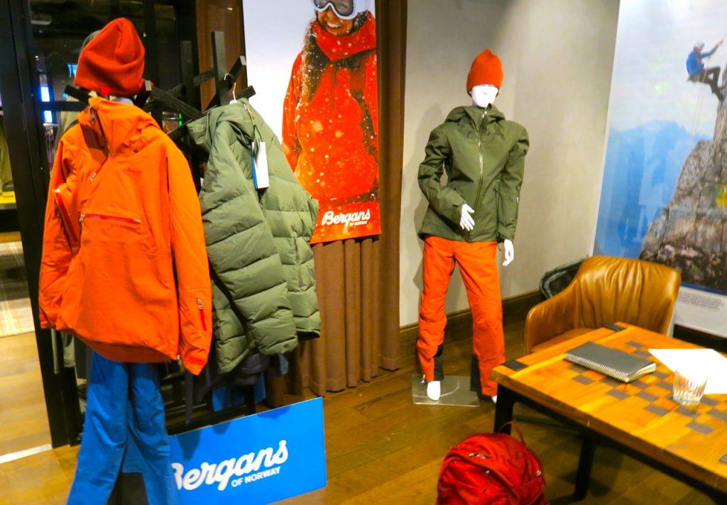 Norska Bergans har en hel del produkter för sport och uteliv.