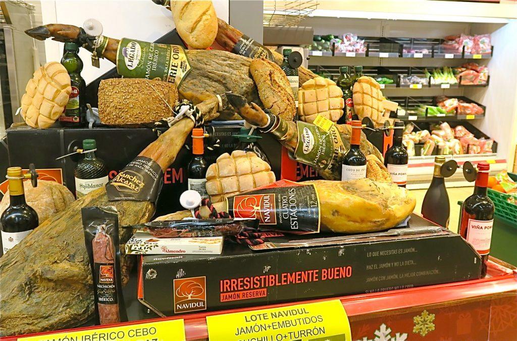 Ibericoskinkan har blandab kvalité och där lagringstiden påverkar priset.