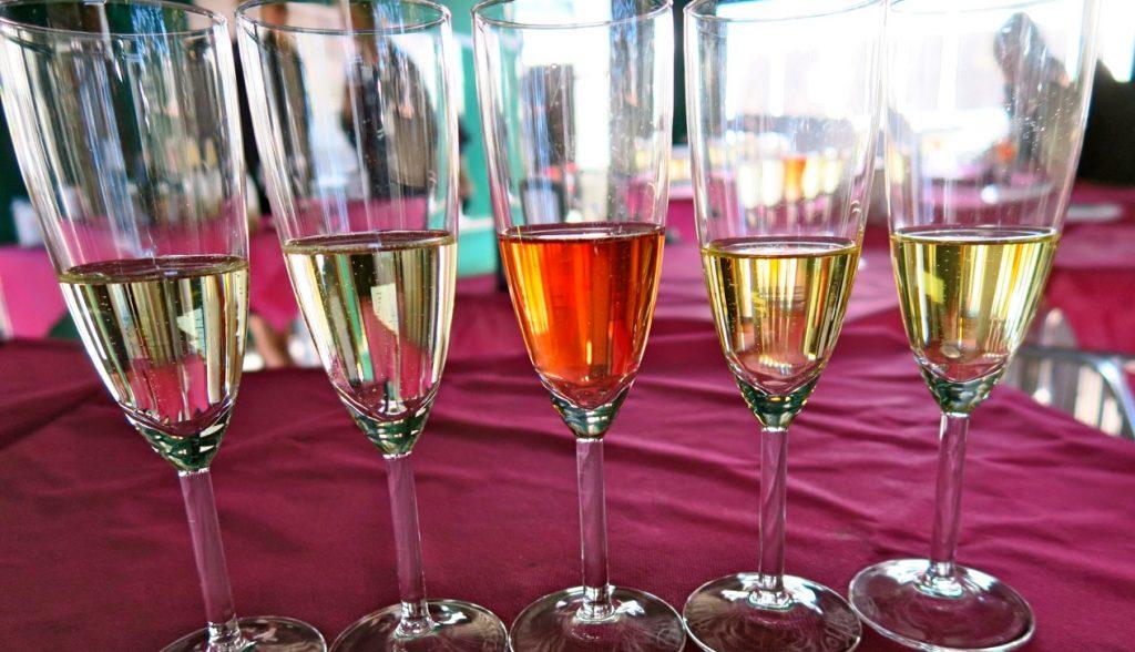 Vinprovning i Torrevieja och här spelade cavan huvudrollen.