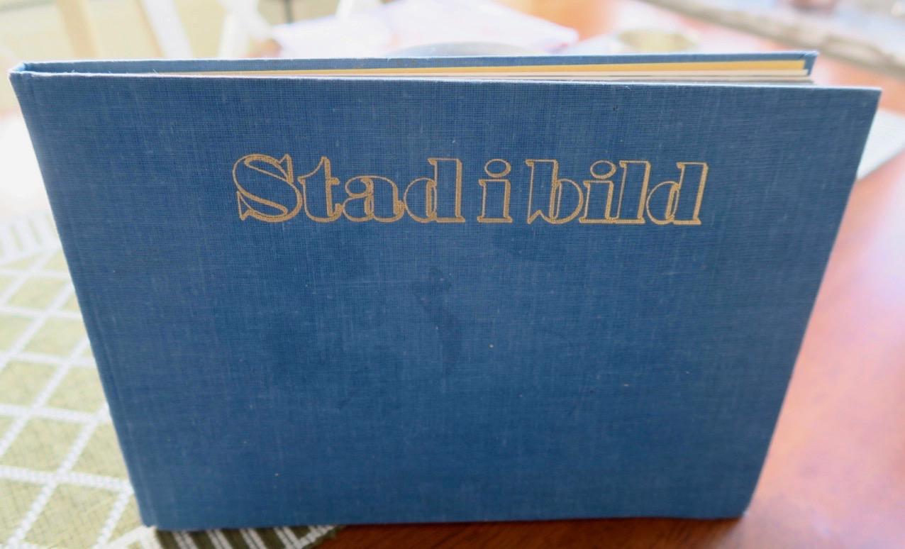 En unik bok av Per Anders Fogelström som innehåller kartor och fotografier som legat till gtund för hans