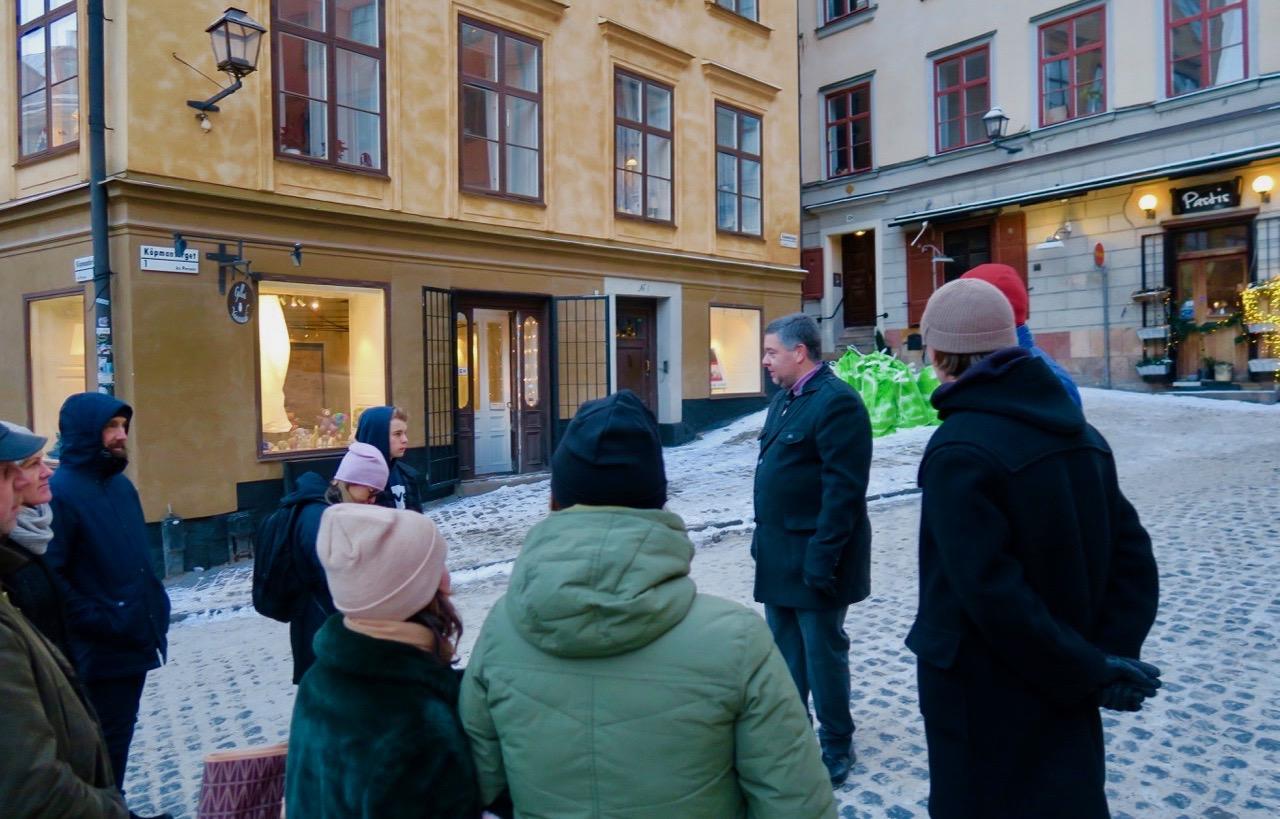 Stadsvandring med fokus på andra världskrigets Stockholm