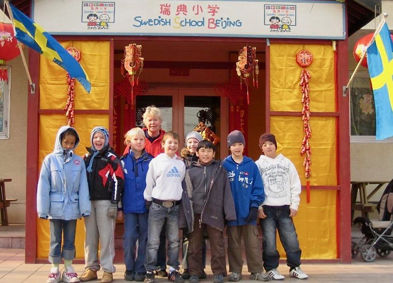 Svenska skolan Peking - har lämnat många härliga avtryck och minnen. Stort tack.