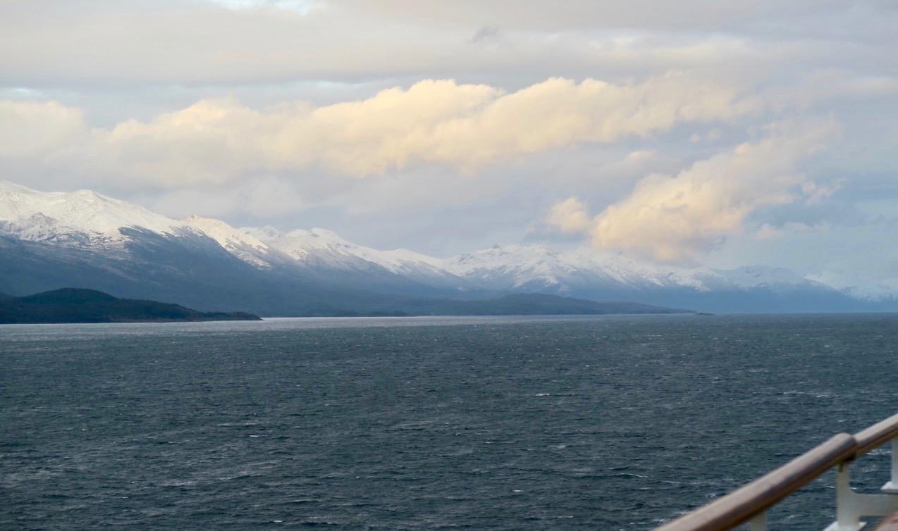PÅ väg mot Ushuaia i södra Argentina. Världens sydligaste stad.