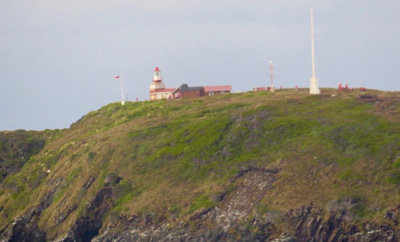 Fyren och väderstationen på Kap Horn.