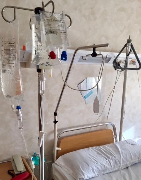 Sjukhuset var snabba med allt. Var extra glad för smärtlindringen.