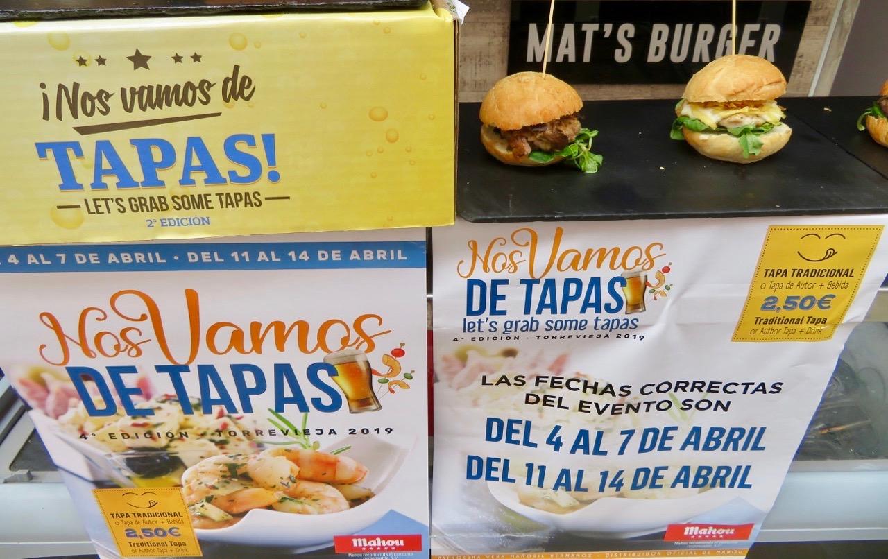 Mat´s burger får vara med i veckans skyltsöndag. Goda som tapas var dessa små varianter..
