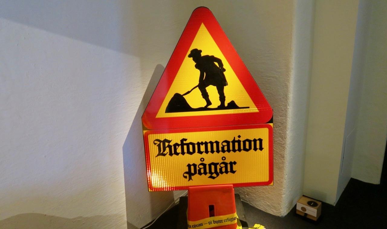 Reformation pågår blir en bra inledning på denna Skyltsöndag