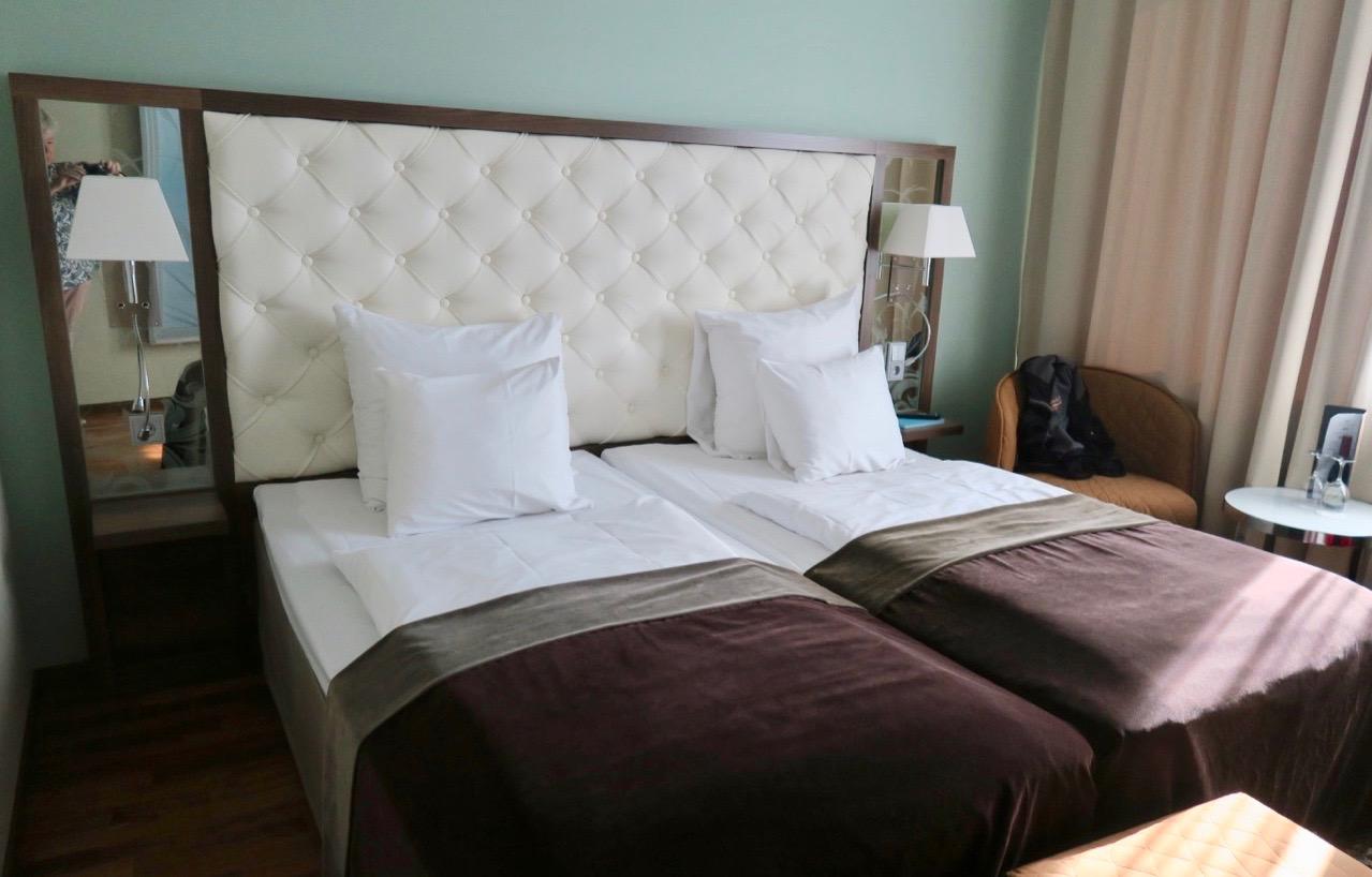 Clarion hotell Arlanda- stort och bekvämt rum.