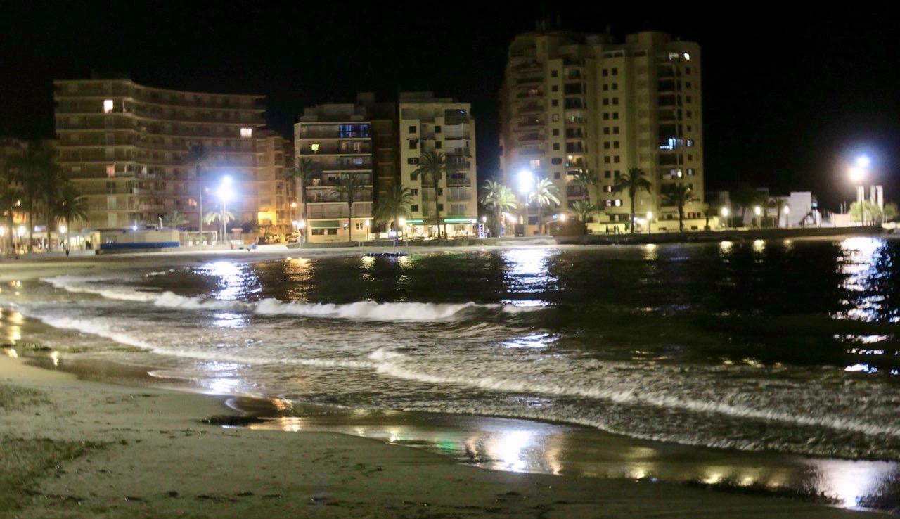 En trevlig utekväll i Torrevieja hade vi.