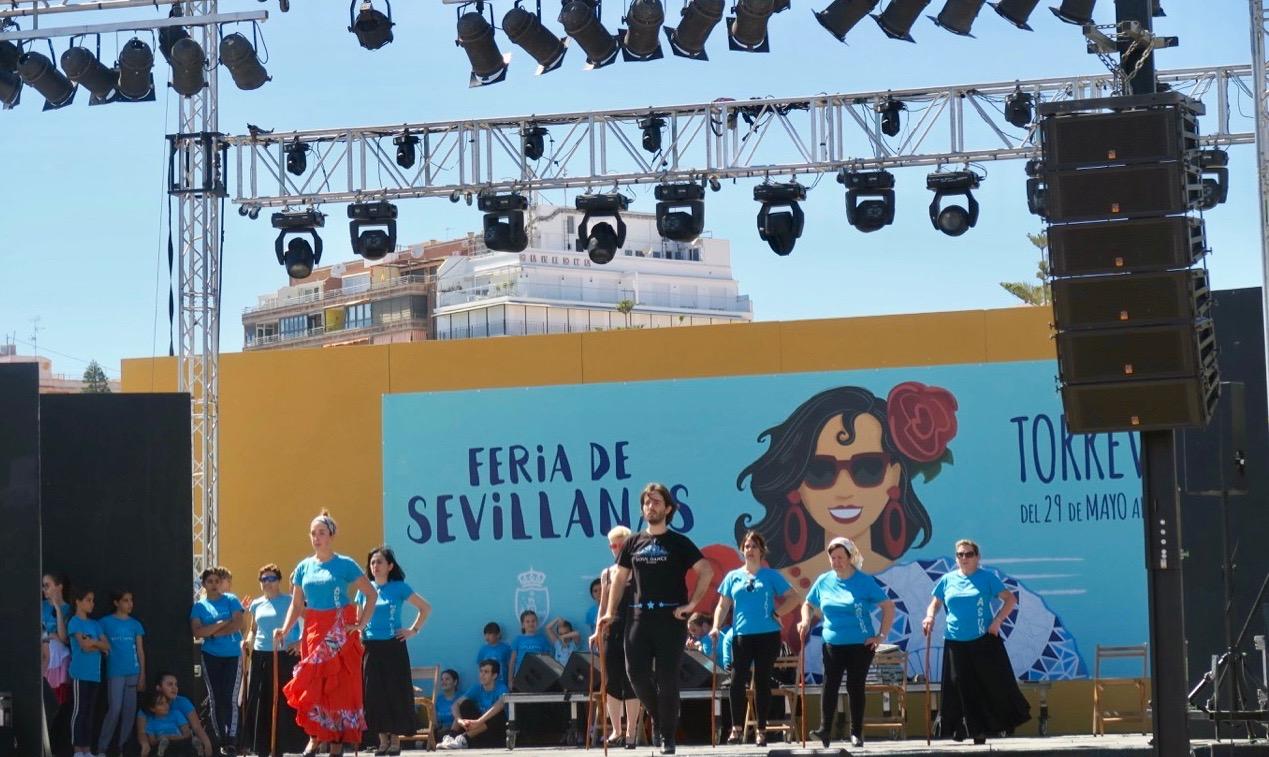"""""""Feria de Sevillanas"""" avslutades igår. En fart och dansfylld helg för många."""
