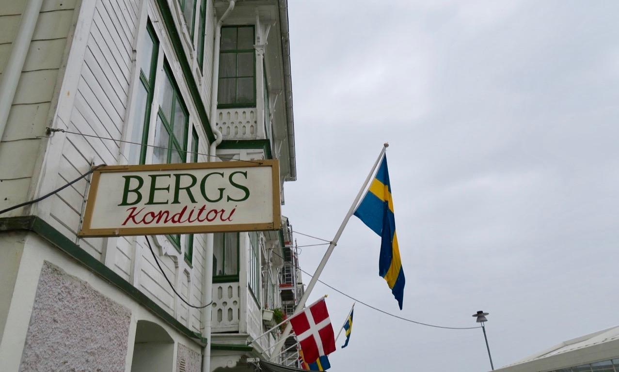 Bergs konditori är inte bara känt i Bohuslän .
