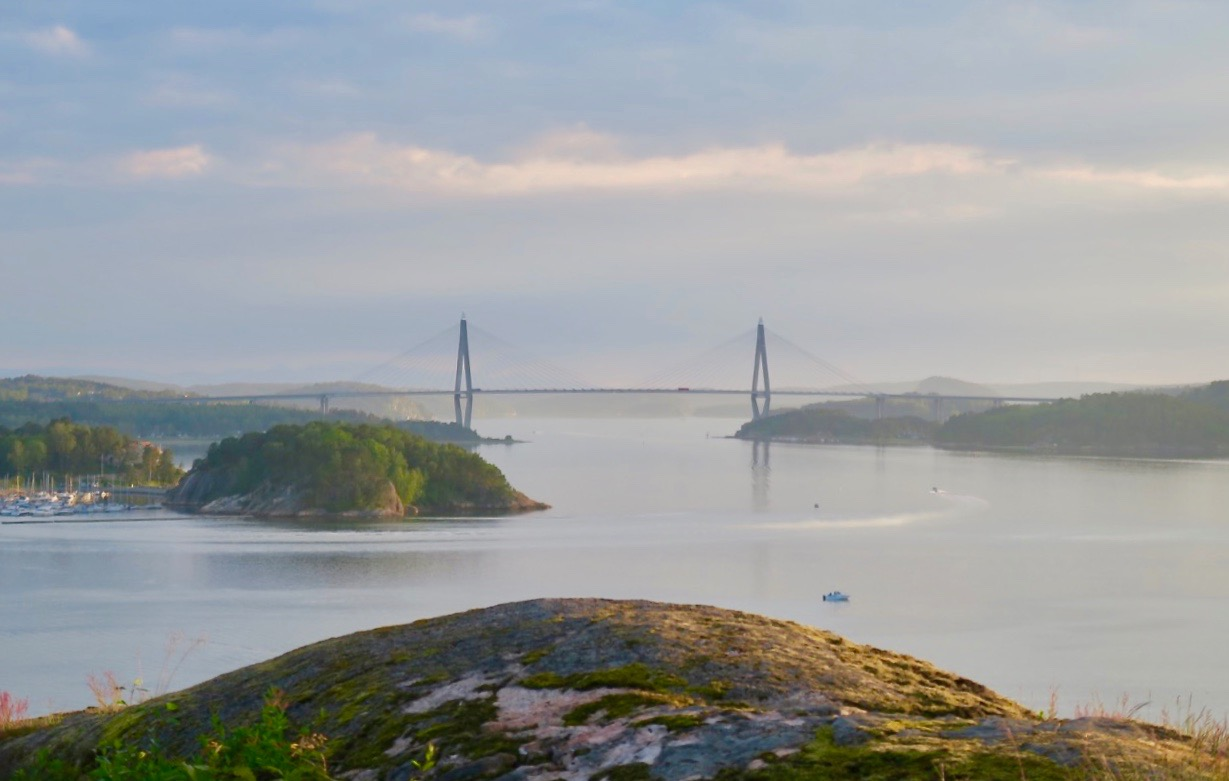 Utsikt mot Uddevallabron.