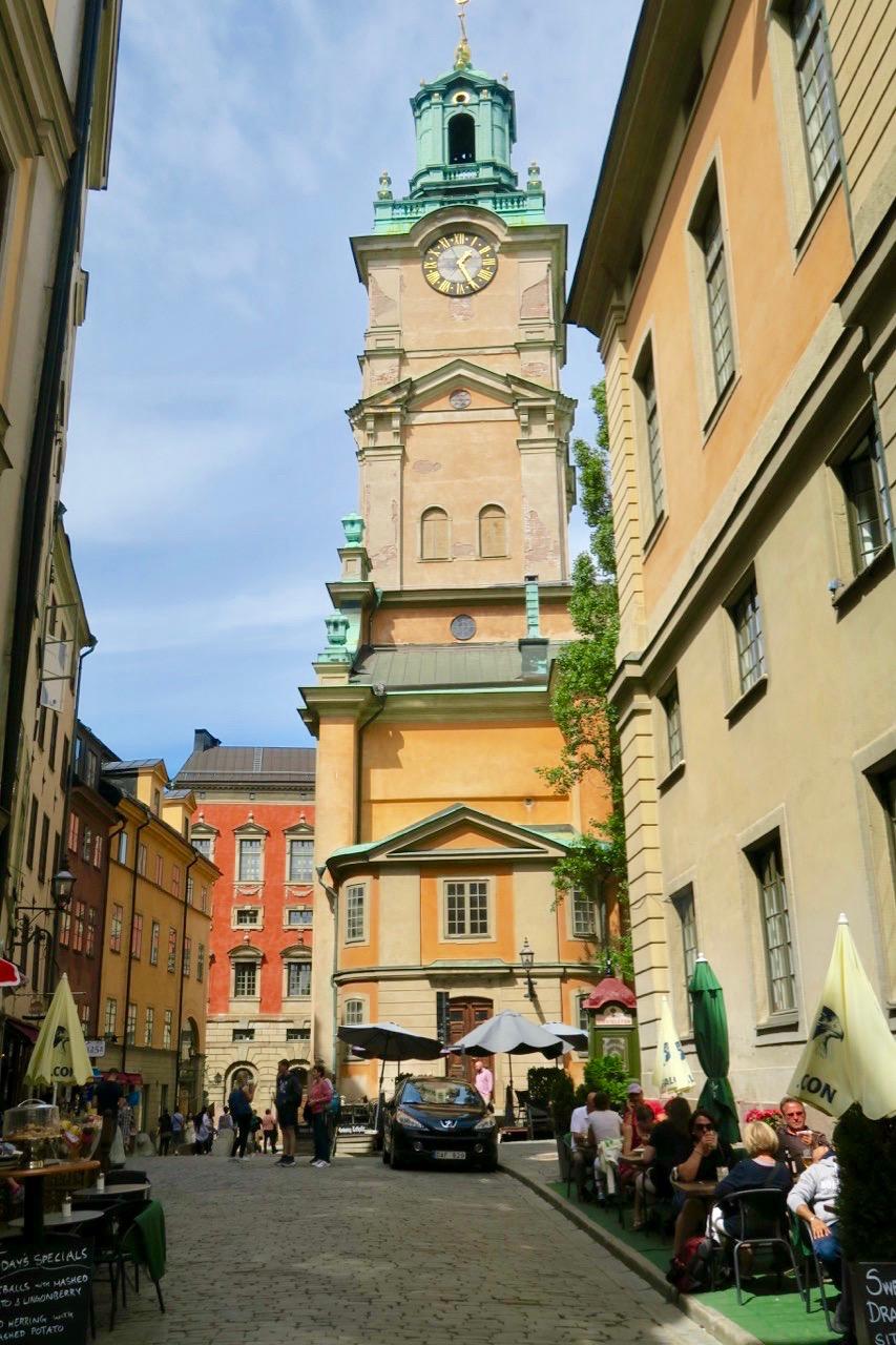 Strokyrkan är gammal. Urspring från 1200-talet- Nuvarande kyrka från 1306