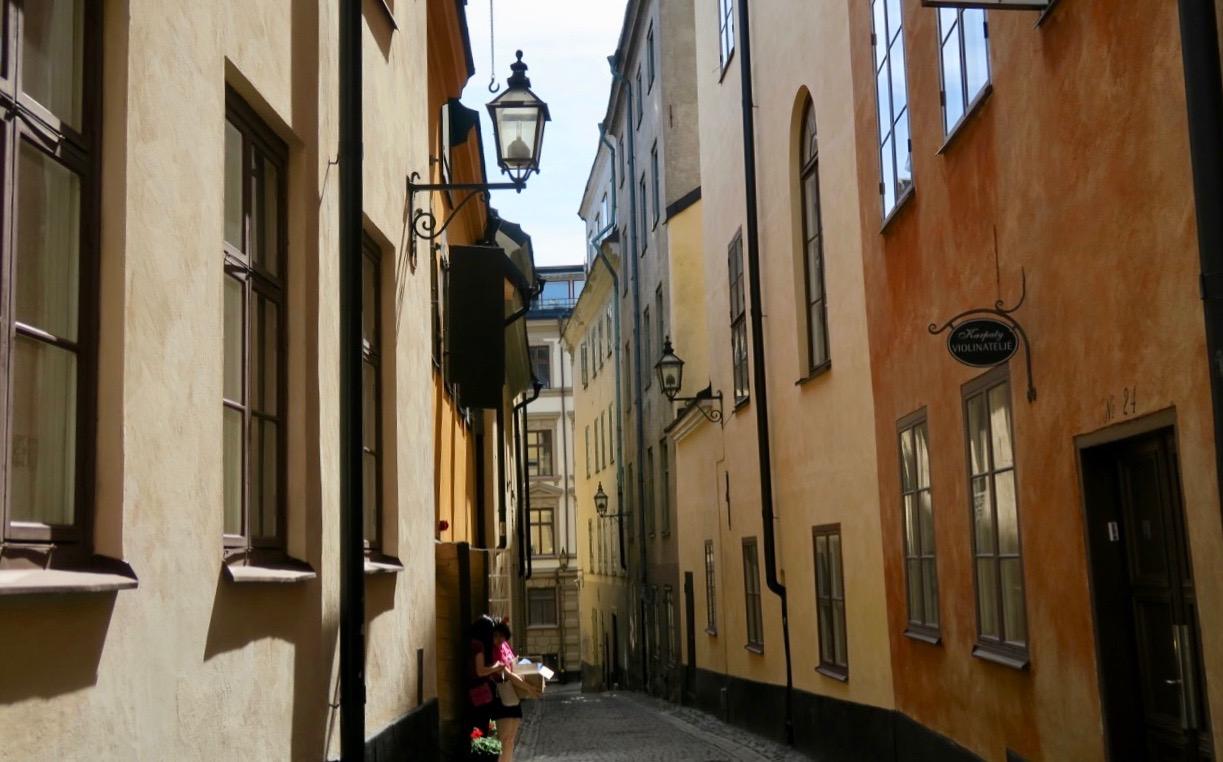 Från Stockholm city tar jag ofta vägen hemåt genom Gamla stan