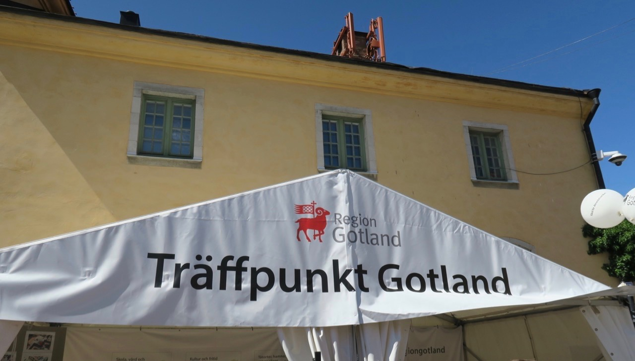 Gotland och Visby som träffpunkt.
