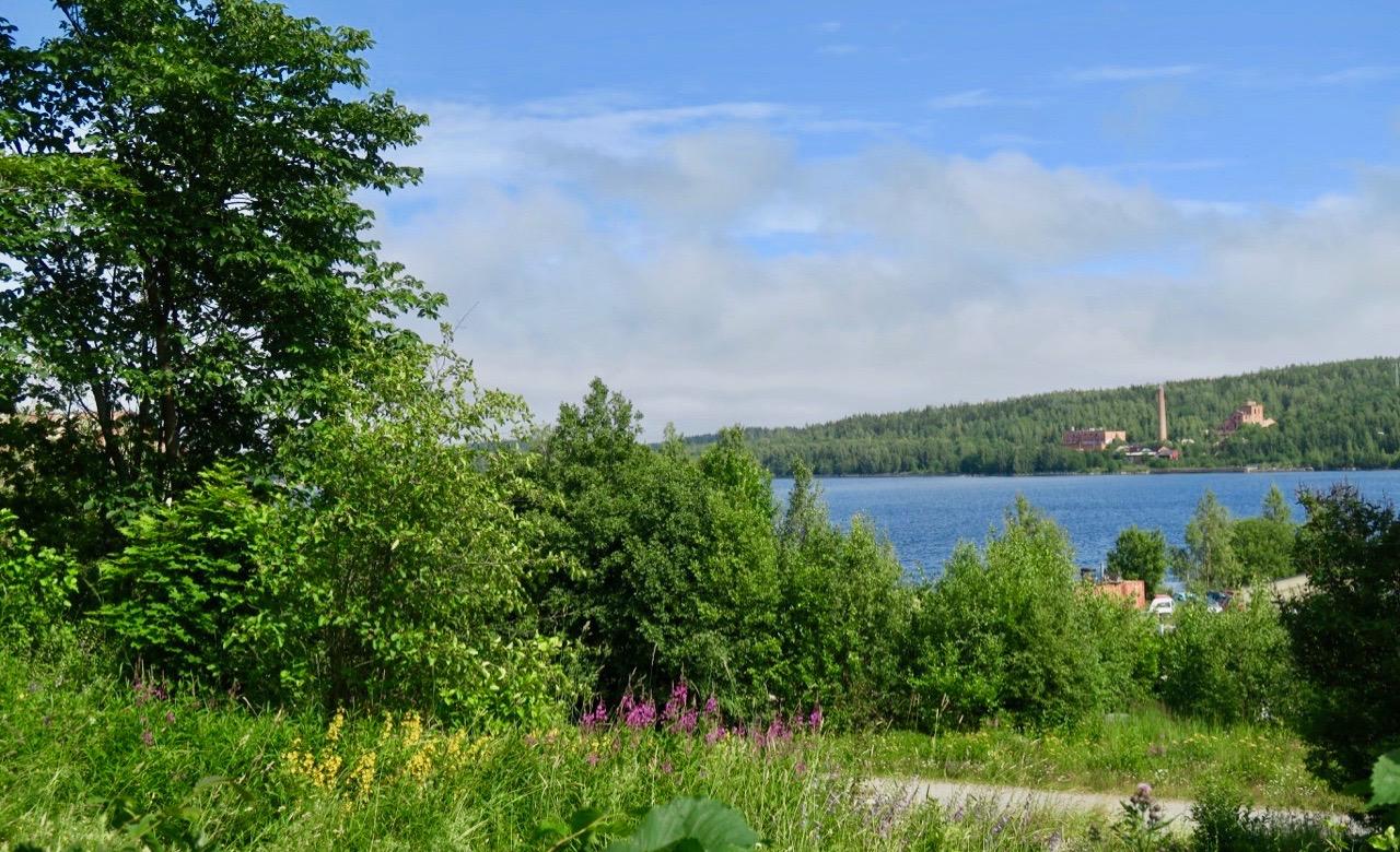På väg till Höga kusten. Stopp söder om Sundsvall vid Svartviks herrgård.