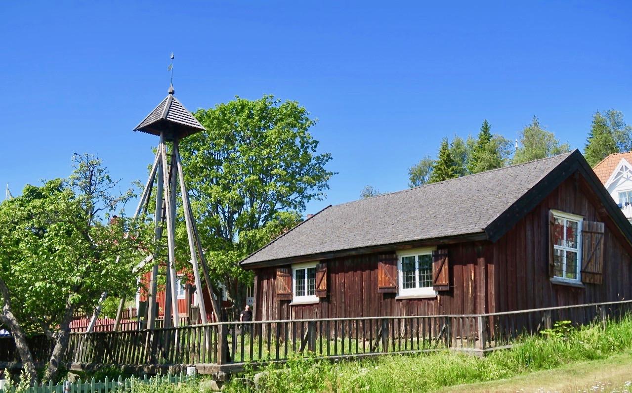 Det gamla kapellet på Ulvön är från 1600-talet