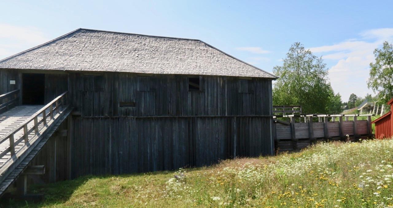 Natur och kultur förenas. Och här i Brynge består kulturen av gammal industrihistoria.