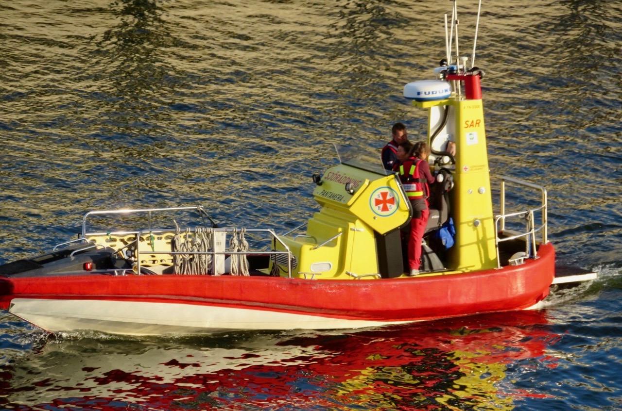 Fredag kväll innebär ofta en del jobb för Sjöräddningen.