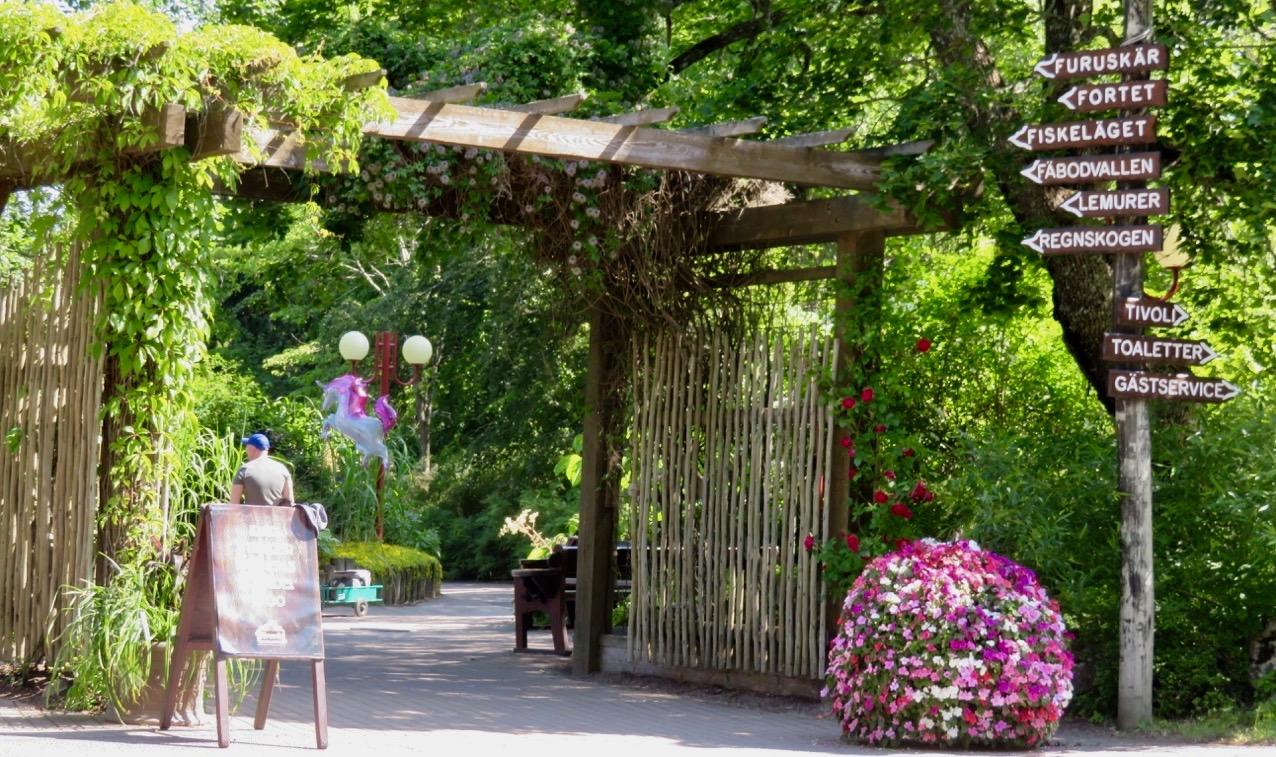 Furuviksparken bjuder på mycket av det mesta och även vad gäller slyltar.