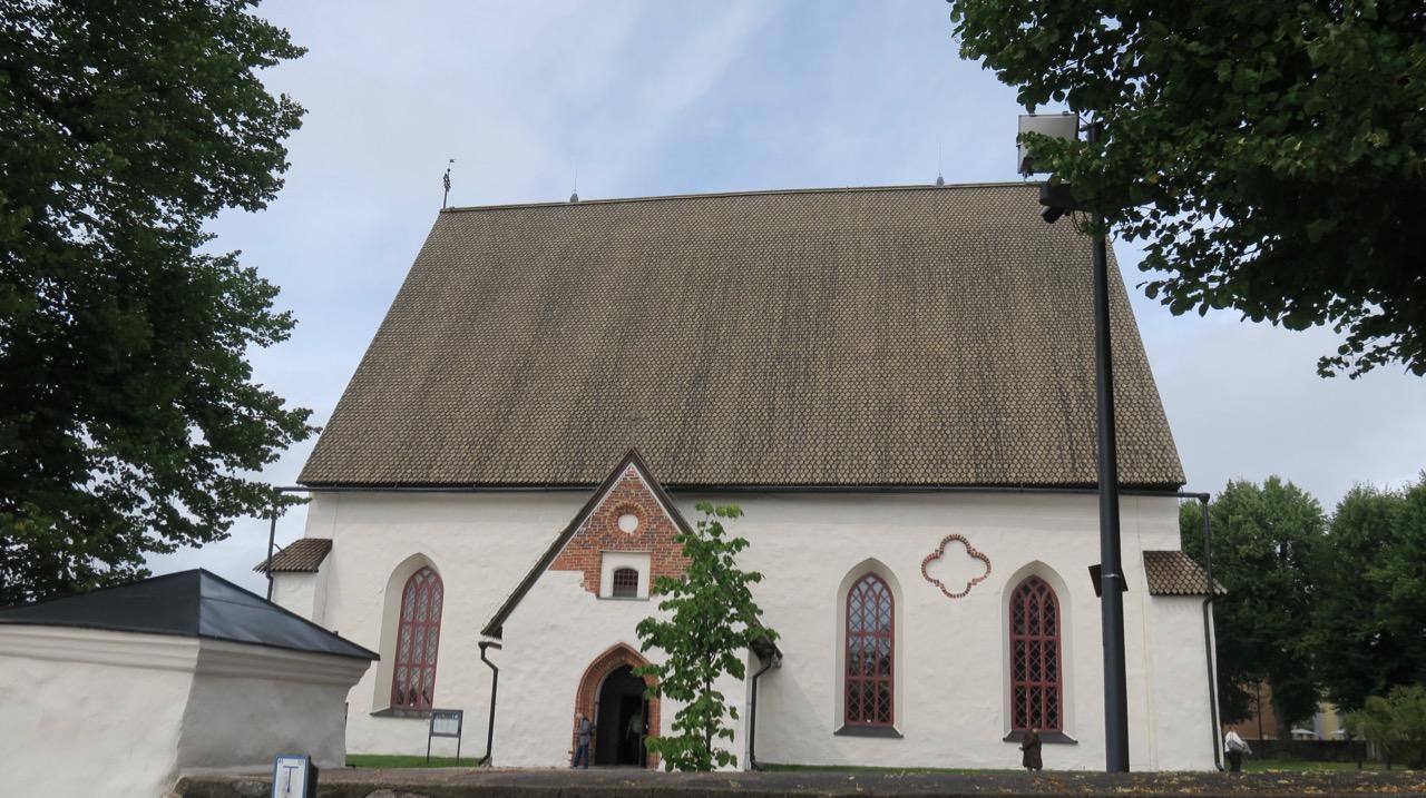 Domkyrkan i Borgå är ursprungligen från 1300- talet