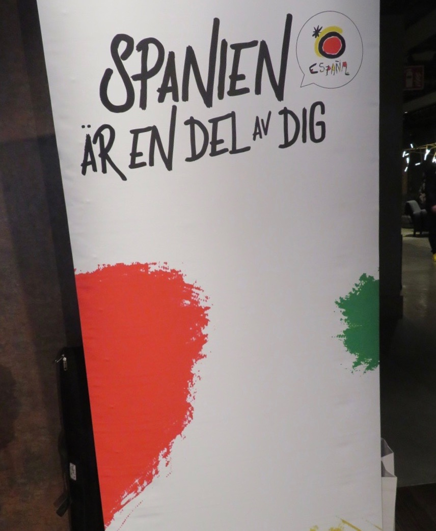 Visst är Spanien en del av mig och med en god blandning som jag tycker om.