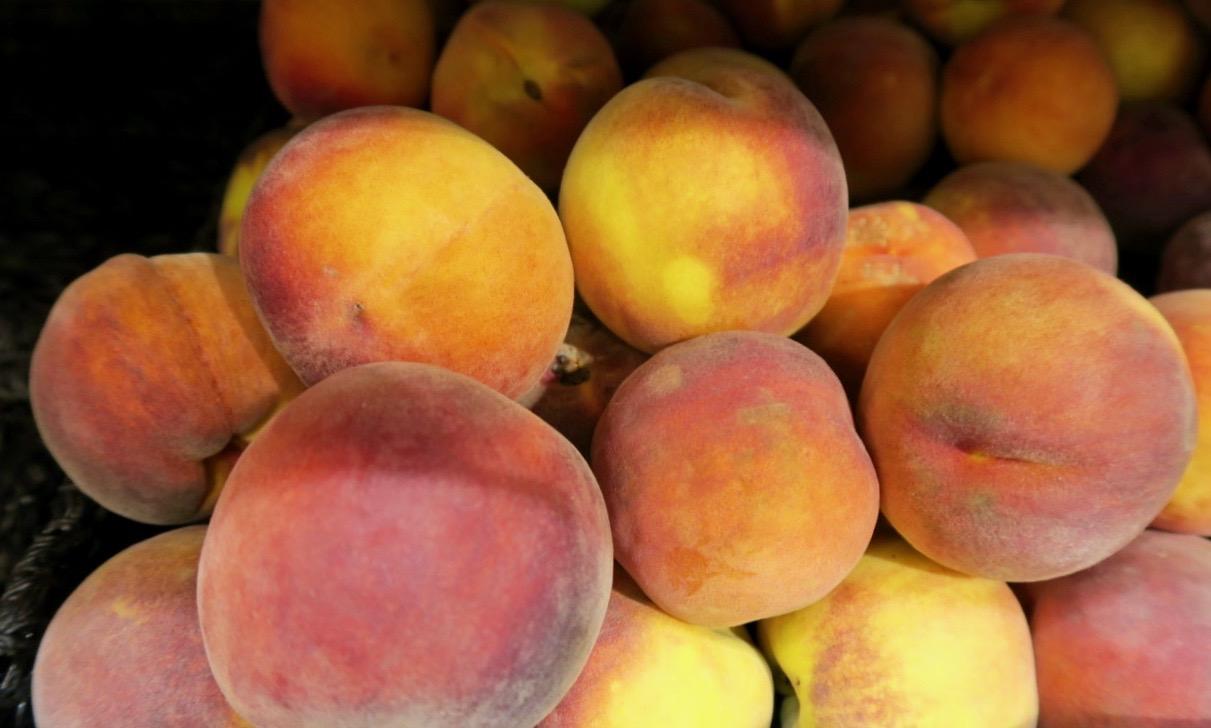 Len som en persika